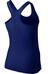 Nike Pro Hypercool hardloopshirt Dames blauw